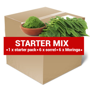 package design STARTER MIX